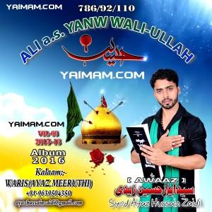 Ayaz Hussain Zaidi 2015 YAIMAM