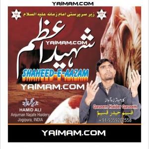 Qaseem Haider 15 YAIMAM