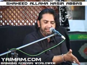 SHAHEED ALLAMA NASIR ABBAS YAIMAM