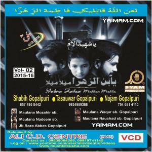 Shabih_Gopalpuri 2016 yaimam