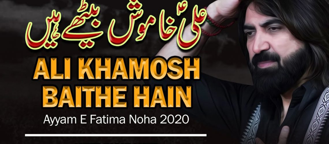 Ameer Hasan Aamir | Ali Khamosh Baithe Hain