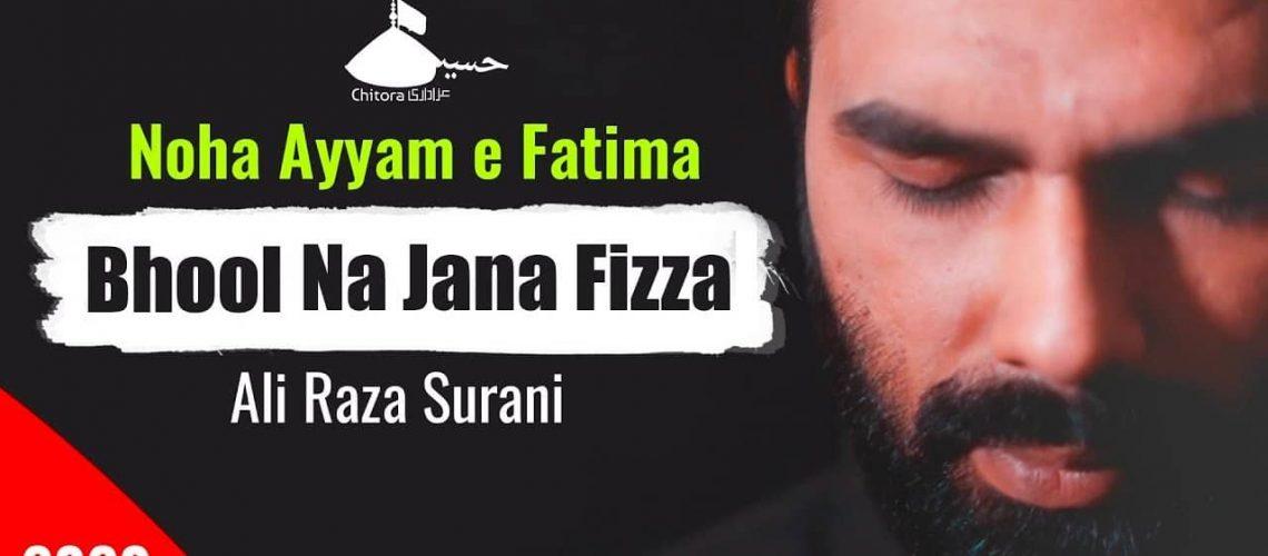 Bhool Na Jana Fizza Wasiyat E Zehra Ali Raza Surani