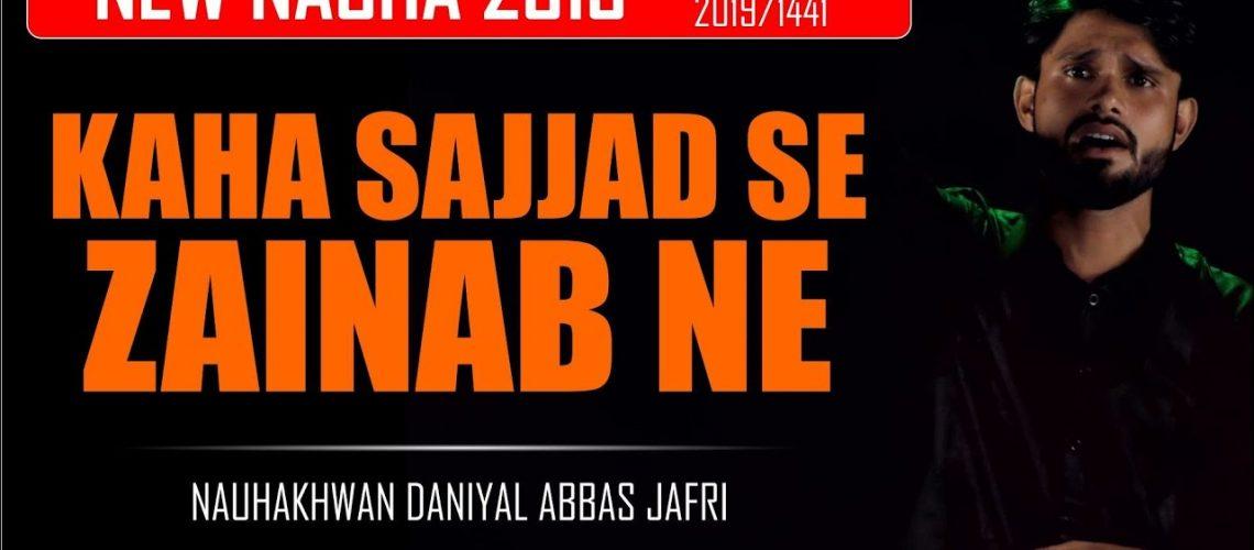 Daniyal Abbas Jafri 2019