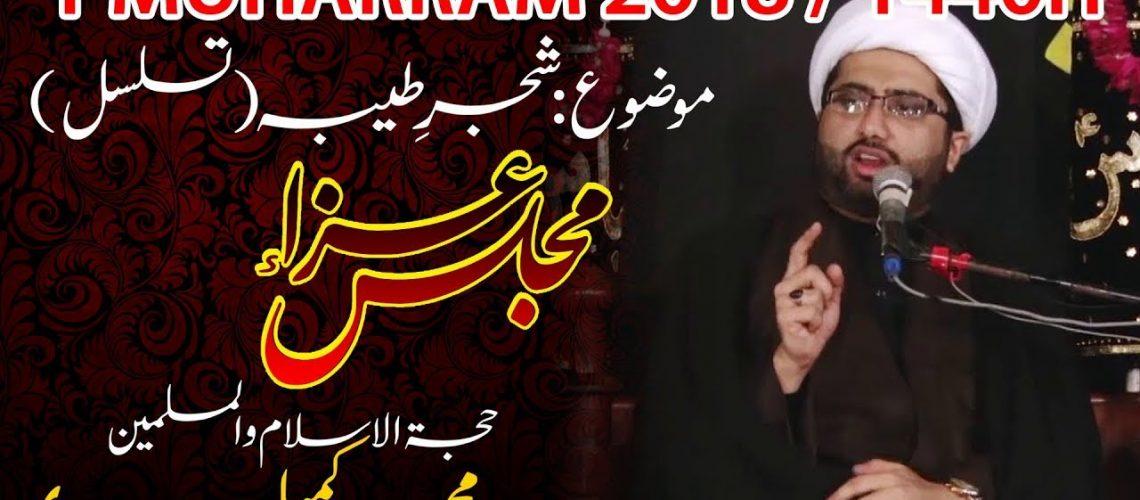 Maulana Kumail Mehdavi Majlises Urdu 2018 1440